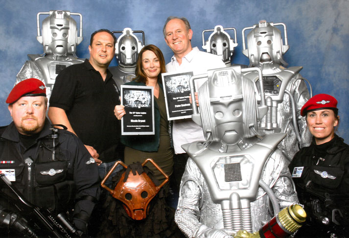 Honorary Members - Peter Davison & Nicola Bryant