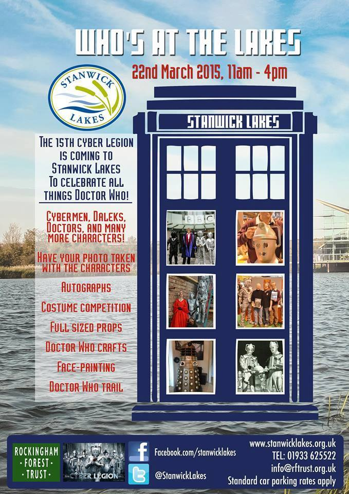 Stanwick Lakes Doctor Who Day